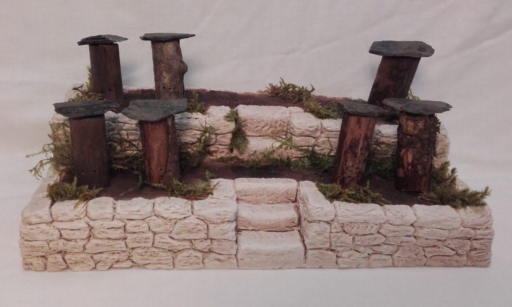 Faïsses 2 étages Ruches-Troncs  Prix: 16 €  Dim: 11 x 20 x 9 cm  Poids approximatif: 900 g