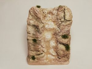 Cascade Tons foncés Prix: 11 €  Dim: 9,5 x 5 x 12 (ht) cm Poids approximatif: 450 g