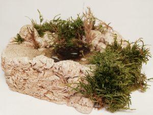 Pied de cascade  Prix: 15 €  Dim: 16 x 15 x 5 cm  Poids approximatif: 540 g